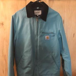 Blue Canvas Carhartt Detroit Jacket